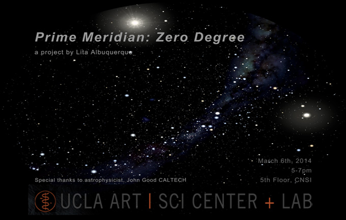 "LITA ALBUQUERQUE: ""Prime Meridian: Zero Degree"" Exhibition"