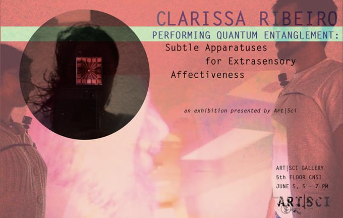 PERFORMING QUANTUM ENTANGLEMENT: Clarissa RIbeiro // June 5, 2014