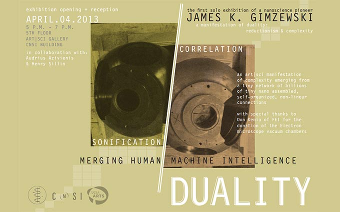 "JAMES GIMZEWSKI ""Duality"""
